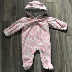 Carter's Spring Fall Winter Suit Onesie One Piece Snow Suit 6 Months